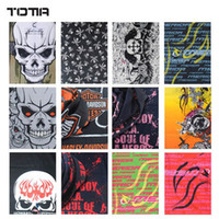 Wholesale freeshipping Mixed Designs Seamless Multifunctional Headwear Bandana Ride Bicycle Bandanas Neck Scarf