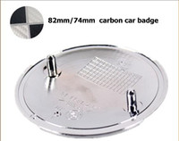 Wholesale Hot Sale MM MM carbon fiber bonnet car badge Rear Boot badges Emblem Emblems