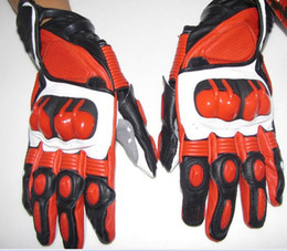red white hot sell motorcycle Gloves leather moto gloves racing gloves