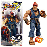 Wholesale Retail NECA Player Select Street Fighter IV Survival Model Gouki Akuma Action Figure Toy Doll SFFG009