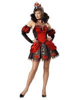 Wholesale Sexy Women s Fairy Costume Queen Of Broken Hearts Costume O38334