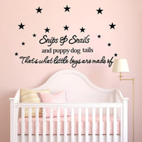 baby wall quotes - New Listing Baby Room Wall Stickers x110cm Children s Room Wall Decor Wall Quotes Decals Wall Art Stickers