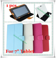 Wholesale X PU Leather Carry Case Cover for inch Android Tablet PC MID Multi Angle Tablet Case tablet cover inch