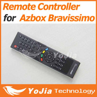 Wholesale 1pc Remote Control for AZbox Bravissimo satellite receiver RC remote controller bravissimo post