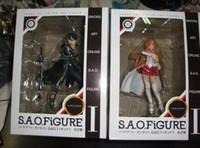 Wholesale Retail Sword Art Online PVC Acton Figure Asuna Krito Figure Toys cm set of SOFG001