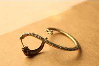 Wholesale snake ear clip cuff earrings jewelry