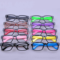 Wholesale 10 Color mix Fashion Sunglasses Frames without lens Unisex Plastic glass frame DHL Fedex Shipping