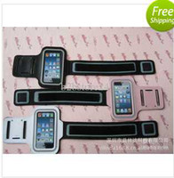 Wholesale US DHL free New Stylish Running Gym Arm Belt Bag Armband Case Cover For Apple Iphone