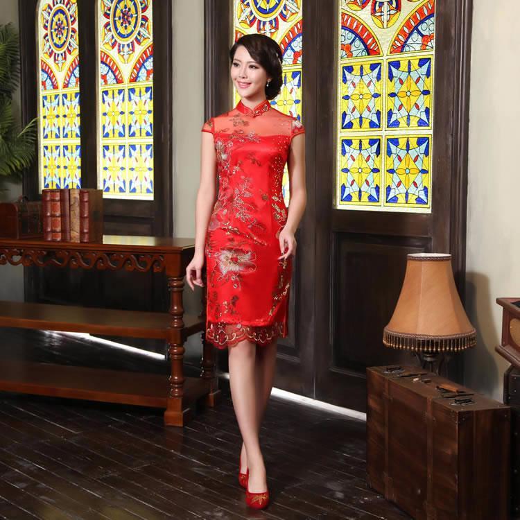 Bahrain Women Dress Women Cheongsam Dress