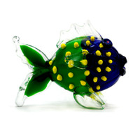 Glass hand blown A037 Wholesale Murano Glass Fish Floating