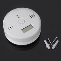 Smoke Detectors carbon monoxide detector - Newest LCD CO Carbon Monoxide Detector Poisoning Gas Fire Warning Alarm Sensor S161