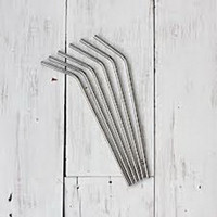 Wholesale Stainless Steel Straw bend drinking straw fruit juice straw durable straw recycle drinking straw economical