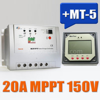 Wholesale 20A Tracer RN EP MPPT Solar Charge Controller Regulators With MT Remote Meter