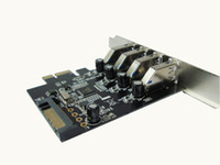 Wholesale 2013 Newest Superspeed Port USB Pci Express PCI E Controller Card for Desktop