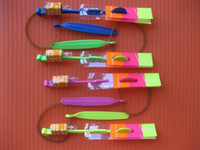 Wholesale 200pcs new Christmas gift LED amazing arrow Flying helicopter umbrella kids toys