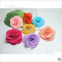 Cheap Kids Candy Colors Flower Design Hair Accessory 2013 Girls New Arrival Spring Hair Clips 50pcs lot