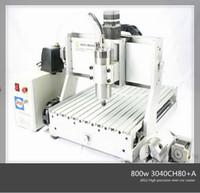 Wholesale promotion high quality CH80 w soft metals plastics woodworking cnc mini engraving machine for sale