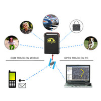 Wholesale New Realtime mini GSM GPRS GPS Tracker TK102