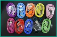Wholesale Color USB Sync Data Charging Charger Cable Cord for Apple iPhone G S G cheapest