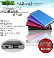 Wholesale Universal Thin Power Bank mAh External Battery Backup Charger USB Portable For iPad iPhone HTC Mobile Phone Colorful
