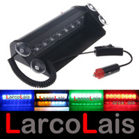 Wholesale LarcoLais LED High Power Strobe Lights Fireman Flashing Police Emergency Warning Fire Car Truck Motor Light