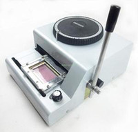 Wholesale New Character Manual PVC Card Embosser Credit ID VIP Embossing Machine