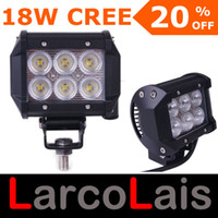 "4 18W Rectangle LarcoLais with Video 4"" 18W Cree LED Work Light Bar Lamp Tractor Boat Off-Road 4WD 4x4 12v 24v Truck SUV ATV Spot Flood Super Bright"