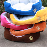 Wholesale 2pc Cashmere like soft warm Pet Bed Pet Nest luxury warm Dog nest small size P03