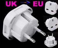 Wholesale UK to EU AC Power Plug Travel Adapter Socket Converter A A V
