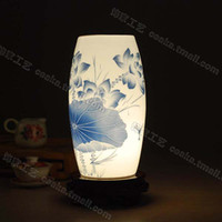 Wholesale new Chinese ceramic eggshell lamp table lamp bedside lamp light lighting lamps TCD30 s