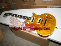 6 Strings ash mahogany - Custom Shop one piece neck fret bingding sl ash Electric guitar New Style