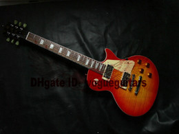 Custom Shop one piece set neck Cherry burst 1959 top Electric guitar 2013 New Style Free Shipping