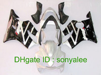 Wholesale Pre drilled gloss black silver for HONDA F4i CBRF4i ABS fairing kit gifts e8783