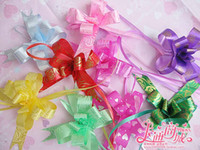 exquisite pattrn pull bows - exquisite printing cm pull flower color ribbon bow party decoration gift wrap present box bowknot