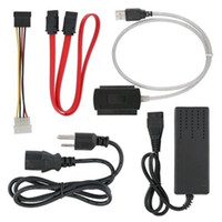 sata to ide adapter - High Speed USB to IDE SATA Hard Drive Converter Cable with Power Adapter amp Data Cable