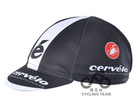 Wholesale cervelo small black cloth cap bike bicycle cycling clothing breathable sun hat