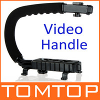 Wholesale C Shape Bracket Video Handle Handheld Stabilizer Grip for DSLR SLR Camera Mini DV Camcorder D861