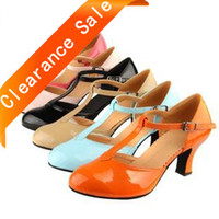 Wholesale size Ladies Dance Shoes Latin shoes woman dancing pumps drop shipping dc1037