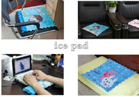 Wholesale Portable ice pad cm waterproof wear ice pad cartoon ice pad for home cars pets outdoor travel essential