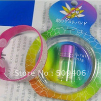 Wholesale Natural Mosquito insect bracelet band baby writstband Repellent anti Bracelet MYY4325