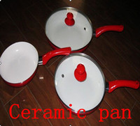Wholesale CeramiCore Ceramic pan Ceramic Coating Fry Pan Set set sets