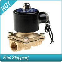 Wholesale 24V DC Electric Solenoid Valve Water Diesel Air Gas quot