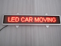 Wholesale LED Taxi Scrolling Message Display pitch mm pixels RED DC12V Mini LED Car Display Board