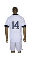 Soccer Men Short Made in China 2013 2014 National teams USA 14 white Soccer Jerseys Football Kits Mix Order