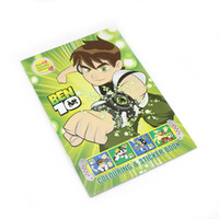 Wholesale Ben ULTIMATE ALIEN ETC COLORING Book sticker pencil eraser BIRTHDAY PARTY FAVORS