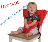 Wholesale 2013 NEW sack n seat Upgrade Baby Eat chair Seat belt Portable Multi function dining chair belt Multicolor