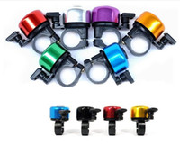 Wholesale Bike Horn Fashion Bicycle Ring Bell Aluminum Bell Sounds Cycling Sport Bike Rings Bells Alarm Horns