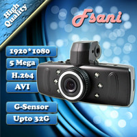 Wholesale New C300 Full HD P Car DVR Record MP Night Vision Motion Detection G Sensor Black Box Fsa