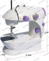 Wholesale LLFA367 Multi function Mini Portable Electric Sewing Machine Use Power adapter