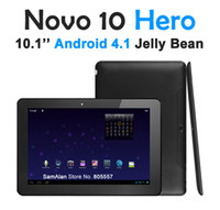 Wholesale Android OS Tablet PC inch IPS AMLogic Dual Core GHz GB DDR3 GB Ainol Novo Hero